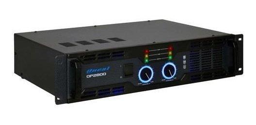 Amplificador Potência Oneal Op2800 500w Rms 4 Ohms Bivolt