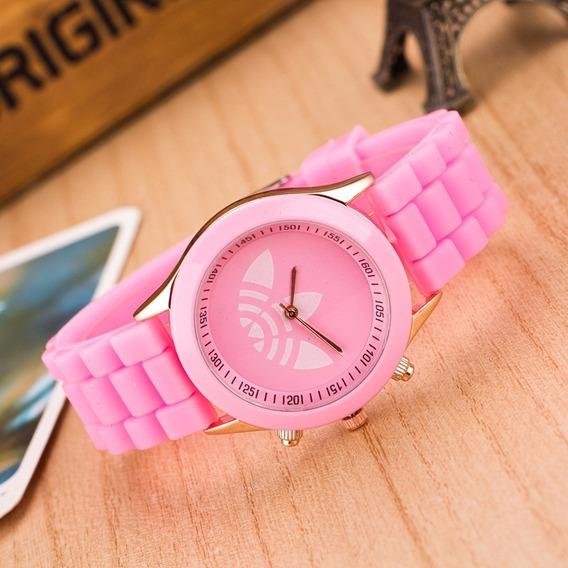 Relógio adidas Feminino Diversas Cores Colorido Rosa