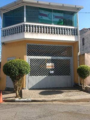 Sobrado Residencial À Venda, Jardim Monte Alegre, Taboão Da Serra. - So0325