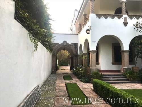 Casa En Renta Con Uso De Suelo Para Oficinas; Lomas De Chapultepec, Miguel Hidal