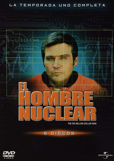 Dvd El Hombre Nuclear 1ra Temporada Lee Major Original