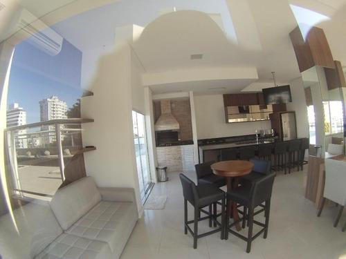 Imagem 1 de 19 de Apartamento 3 Dormitórios, 1 Suite, Sacada Vaga Dupla De Garagem, Próximo A Beira Mar Do Estreito - Ap2225