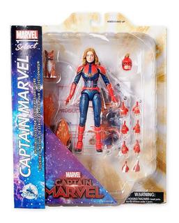 Marvel Select Figura Capitana Marvel 25 Cm 2020