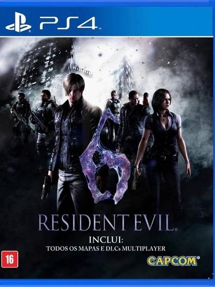 Resident Evil 6 Ps4 1 Verifique Descrição