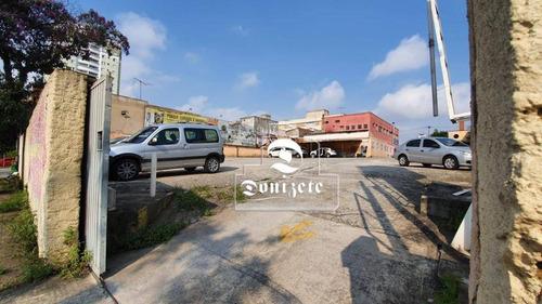 Terreno À Venda, 420 M² Por R$ 1.500.000,00 - Vila Bastos - Santo André/sp - Te0945