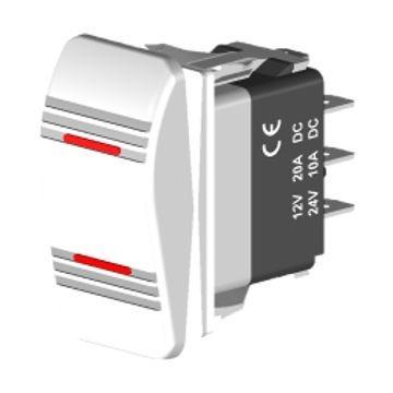 Imagem 1 de 1 de Interruptor On - Off - On - Cod 2758