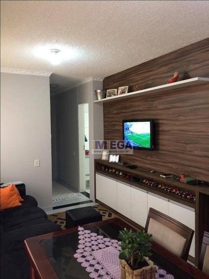 Apartamento Com 3 Dormitórios 1 Suíte Cond. Villa Flora, 63 M² Por R$ 295.000 - Jardim Interlagos - Hortolândia/sp - Ap3593