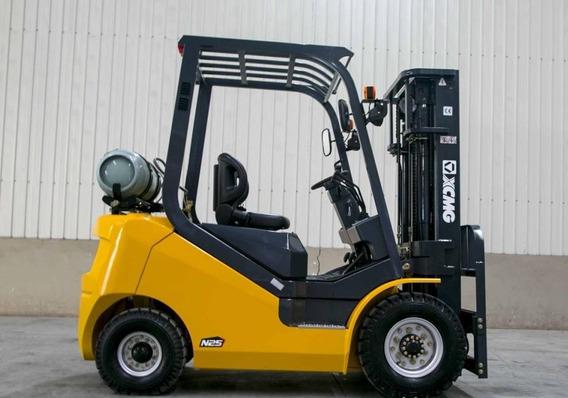 Autoelevador Xcmg Diesel 2.5tn Torre Triple Bauza Group