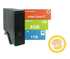 Computador Tob High Thin Com Intel Core I7 8gb De Memória Hd