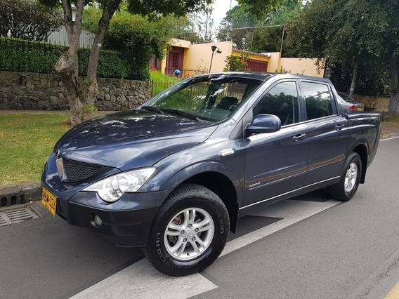 Ssangyong Actyon Sports Doble Cabina At 4x4 Full Equipo