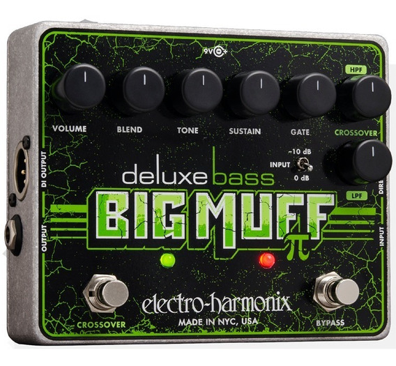 Pedal Deluxe Bass Big Muff Pi - Distortion / Fuzz / Baixo