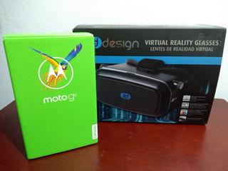 Motorola Moto G5 32 Gb Dual Sim Y Gafas De Realidad Virtual
