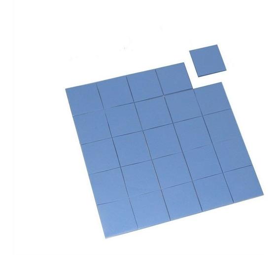 Thermal Pad Térmico Azul C/25 Pçs 15mm X 15mmx 0.5mm.