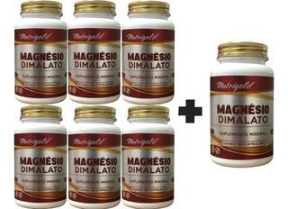 7 Magnésio Dimalato 60 Caps Puro - Dr Lair Ribeiro