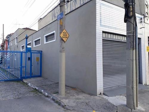 Galpão Comercial À Venda, Vila Regente Feijó, São Paulo. - Ga0071