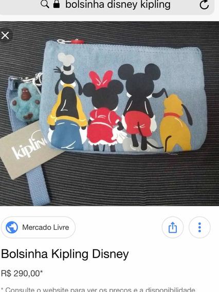 Bolsa Kipling Disney Juliana