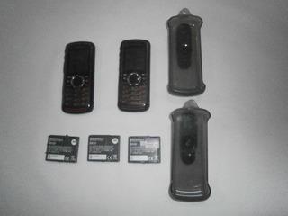 Telefone Nextel I 296 2 Aparelho 1 Funcionando 1 Para Peças