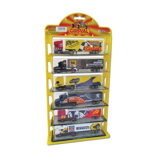 Carretas Em Miniatura Guisval Diecast Escala 1:87 Brinquedo