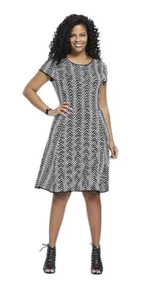 Vestido London Times Talla M, Nuevo Sin Etiqueta,tela Sweter
