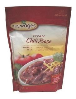 Mezcla De Tomate De La Sra. Wages Base De Chile (paquete De
