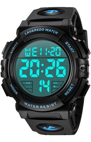 Reloj Digital Para Hombre  Relojes Deportivos Militares Imp