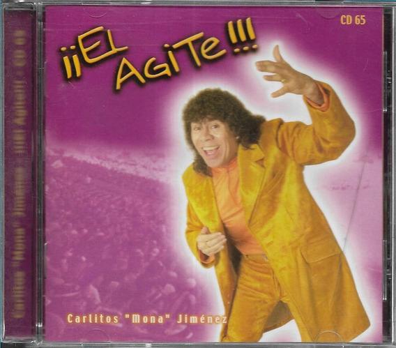 La Mona Jimenez Album El Agite Sello Warner Music Cd 2000