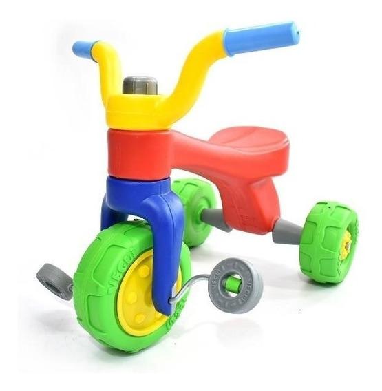 Triciclo Plastico Vegui Qrio Súper Resistente