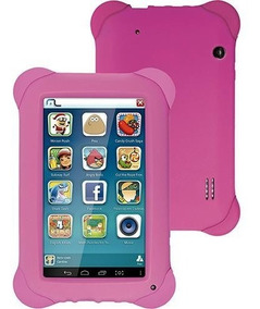 Tablet Multilaser Kid Pad, Rosa, Tela 7 , Wi-fi, Android 4.1
