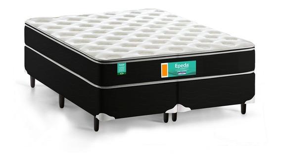 Cama Box De Casal Sleepy Bonnell D23 Intermediário 138x188cm