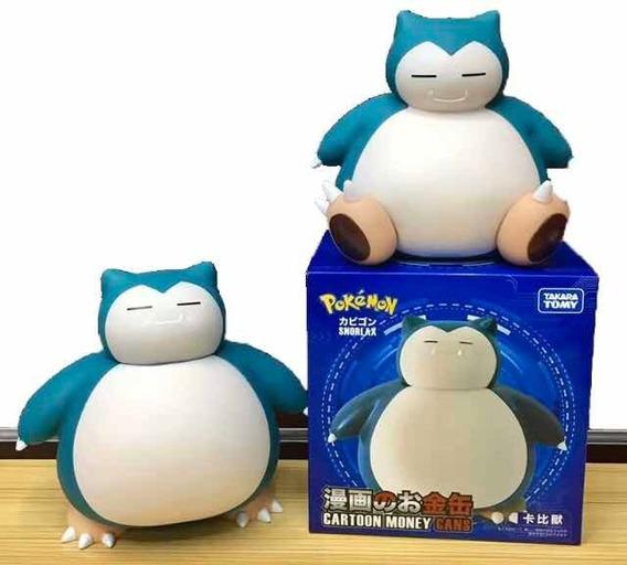 Super Pikachu Pokemon Snorlax Alcancia Figura Envio Gratis