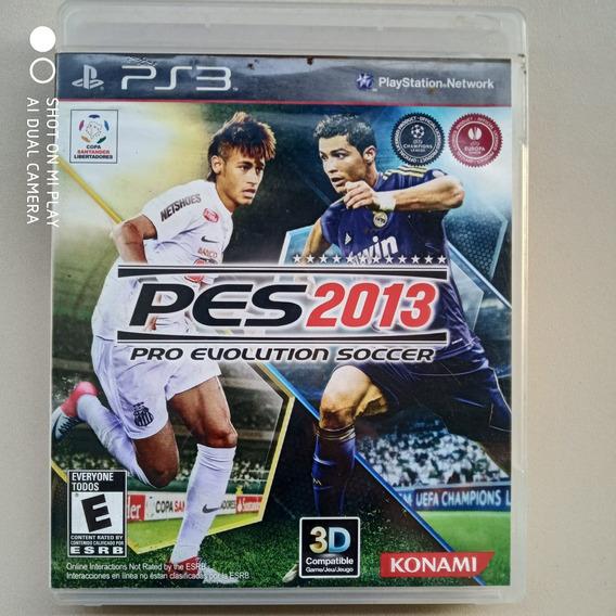 Jogo Ps3 Pes 2013 Pro Evolution Soccer Original Física Usado
