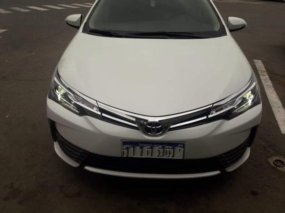 Toyota Corolla Se-g Cvt 2017 34600 Kms Blanco En Garantía
