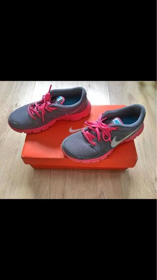 Tênis Nike Flex Experience Chumbo Rosa