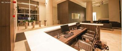 Sala Comercial Para Locação Em Mogi Das Cruzes, Centro Civico, 1 Dormitório, 1 Banheiro, 1 Vaga - 214