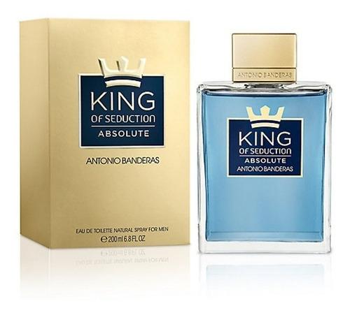Perfume King Of Seduction Absolute Antonio Banderas 200ml