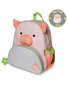 Mochila Escola Infantil Skip Hop Porquinha, Original Porca