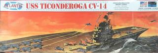 Navio Uss Ticonderoga Cv-14 1/500 Kit Atlantis - Petrohobby