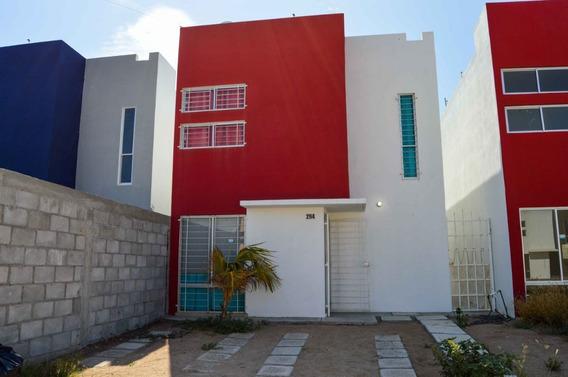 Casa Amueblada En Renta Paraíso Del Sol