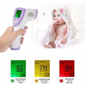 Termômetro Infravermelho Sem Contato Testa Criança Adulto