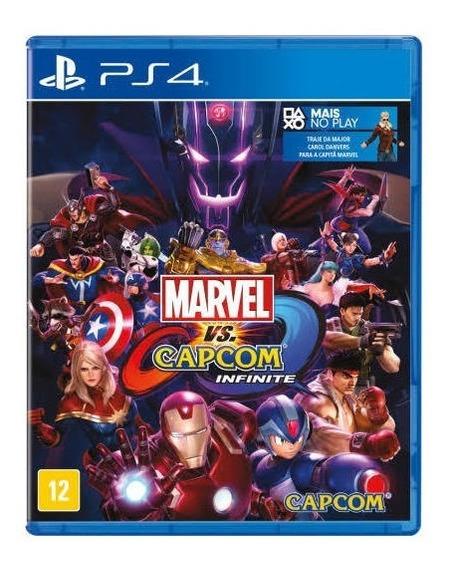 Jogo Marvel Vs Capcom Infinite Ps4 Playstation 4 Lacrado