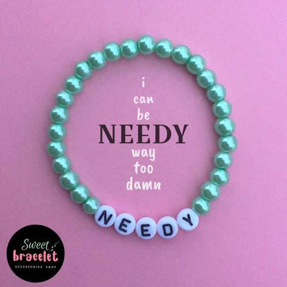 Needy Ariana Grande (pulsera De Cuentas)