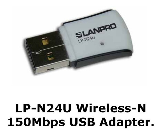 Adaptador Usb Wifi Lanpro N24u 150mbps
