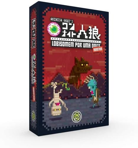 Jogo Game Tabuleiro Cartas Lobisomen Uma Noite Monstros