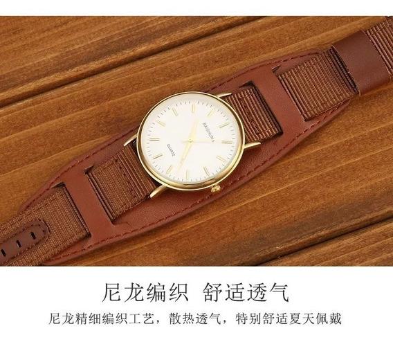 Pulseira Bracelete Para O Seu Relógio Largura 04 Cm
