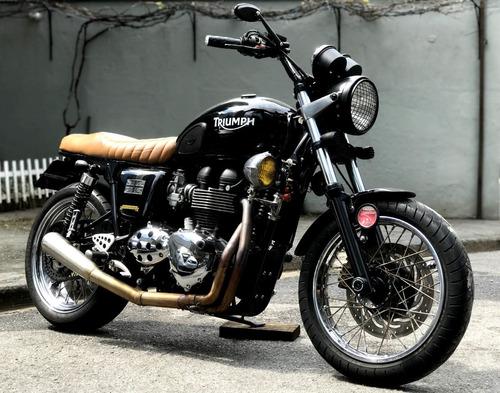 Imagem 1 de 9 de Triumph Bonneville T100