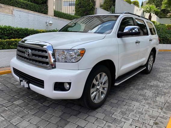 Toyota Sequoia Limited 2012 Blindada Nivel 3 Plus