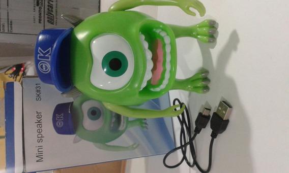 Caixa De Som Mini Speaker Usb /lj