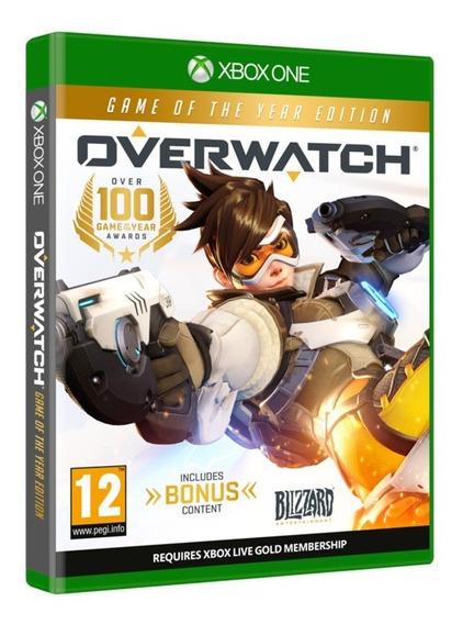 Jogo Overwatch Xbox One Disco Fisico Original Novo Dublado Promoção