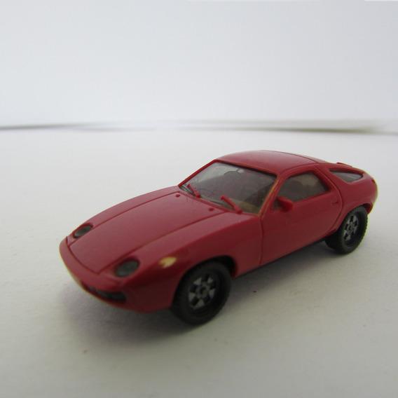 Escala 1/87 Herpa Carro Porsche 928 Vermelho Jorgetrens