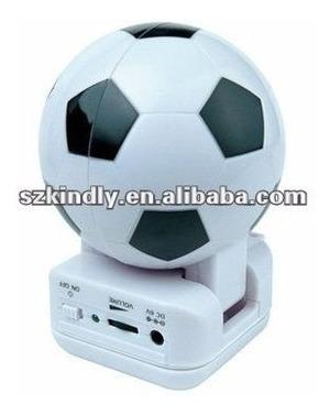 Caixa De Som Bola De Futebol